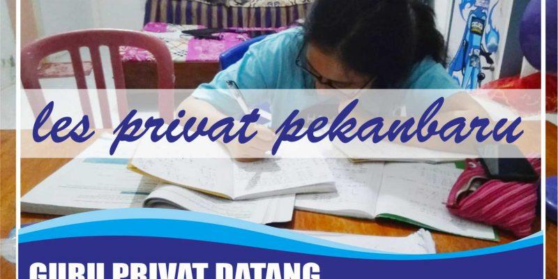 Les Privat Matematika Di Pekanbaru